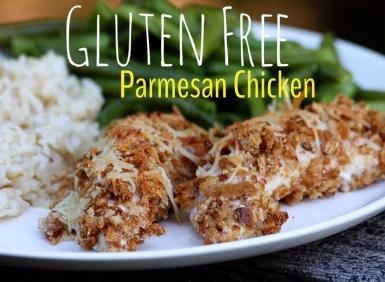 Gluten Free Parmesan Chicken